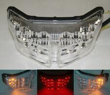 Clear LED Tail Light Turn Signal For Yamaha 2006-15 2010 FZ1 Fazer 2010-2015 FZ8