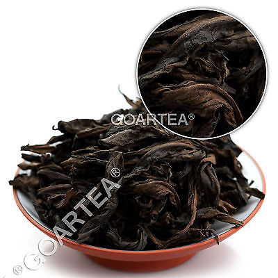 50g 1997 Year Aged Organic Supreme Wuyi Rock Da Hong Pao Big Red Robe Oolong Tea