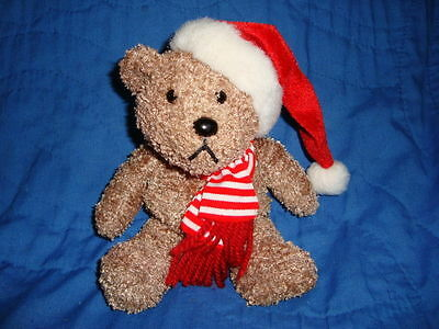 "Sears Plush Bear KRINGLE Christmas 2000 Exclusive 8/"""