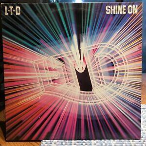 LTD-Shine-On-LP-Vinyl-Record-Original-1980-Soul-Funk-Near-Mint