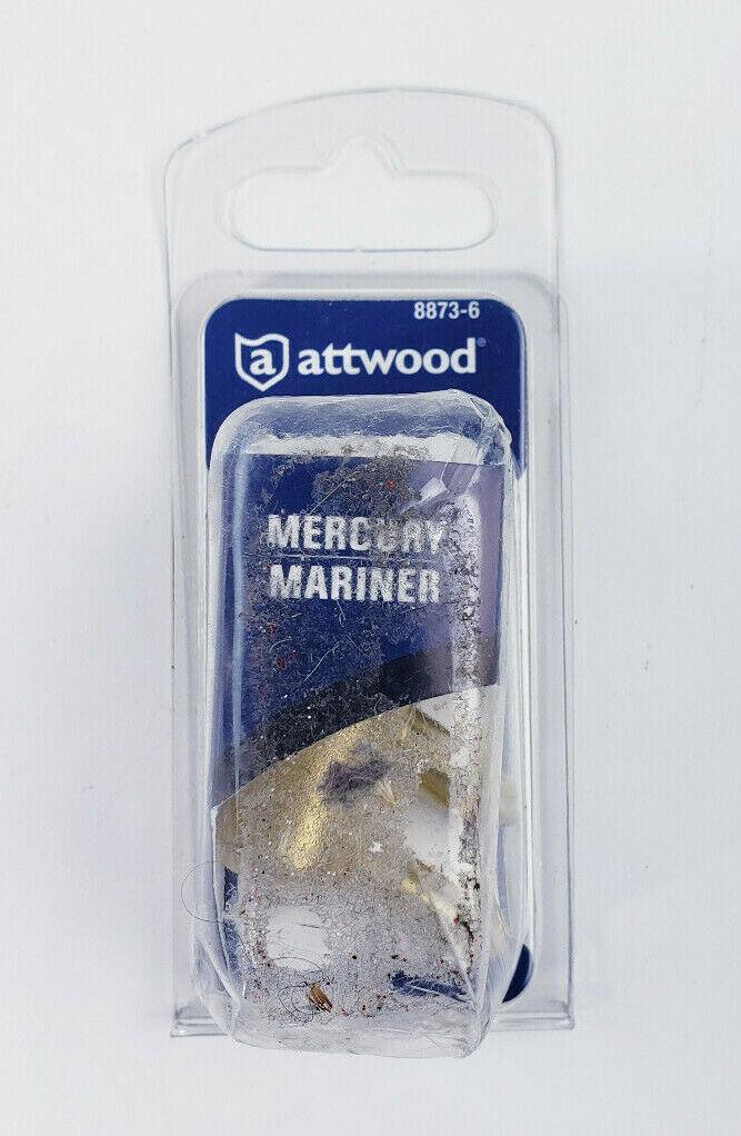 Attwood Mercury Mariner Tankanschluss 8873-6 Benzinanschluss Messing 1//4NPT Boot