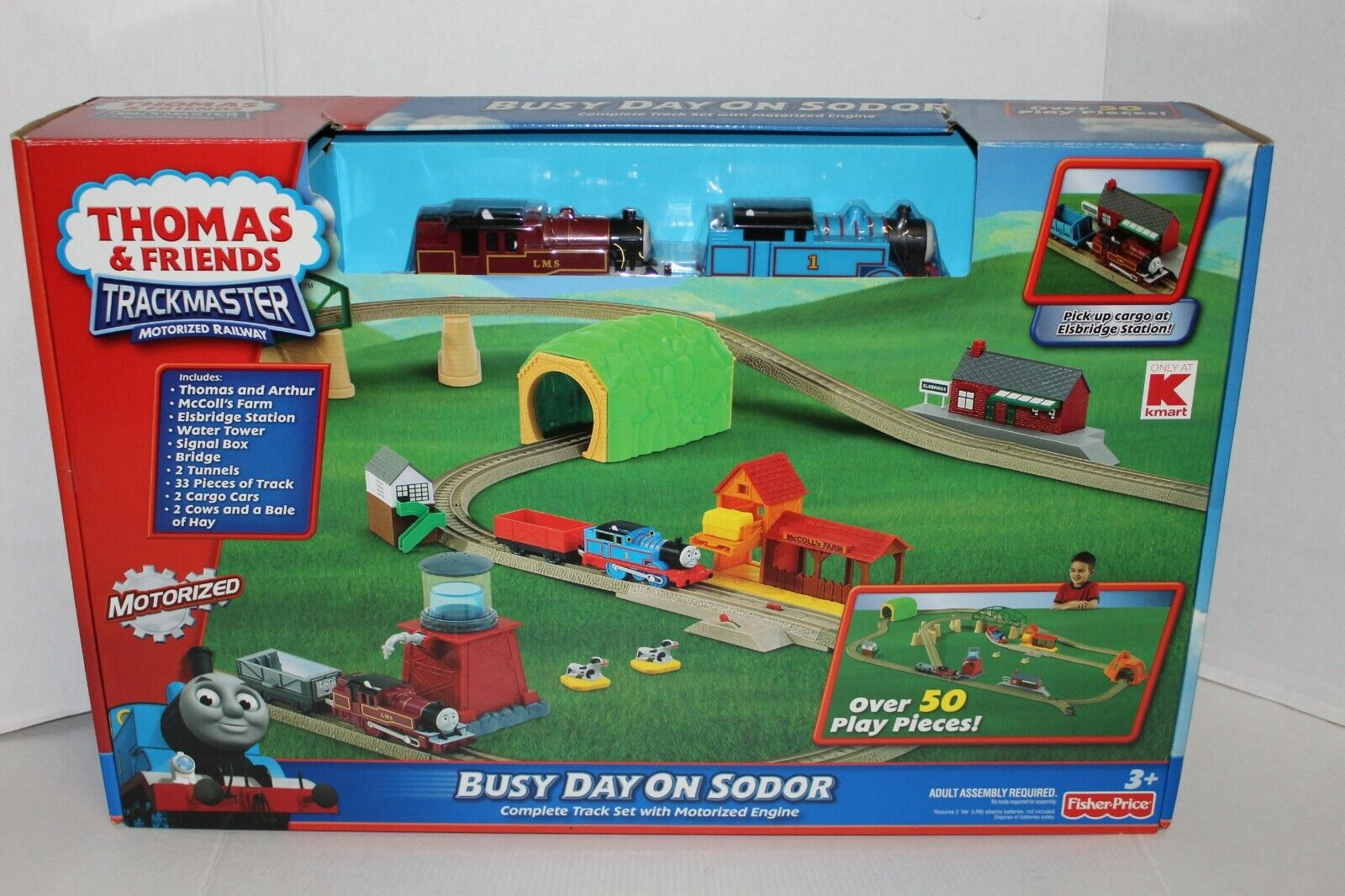 Thomas and Friends Busy Day on Sodor Set 3+ Fisher-Price