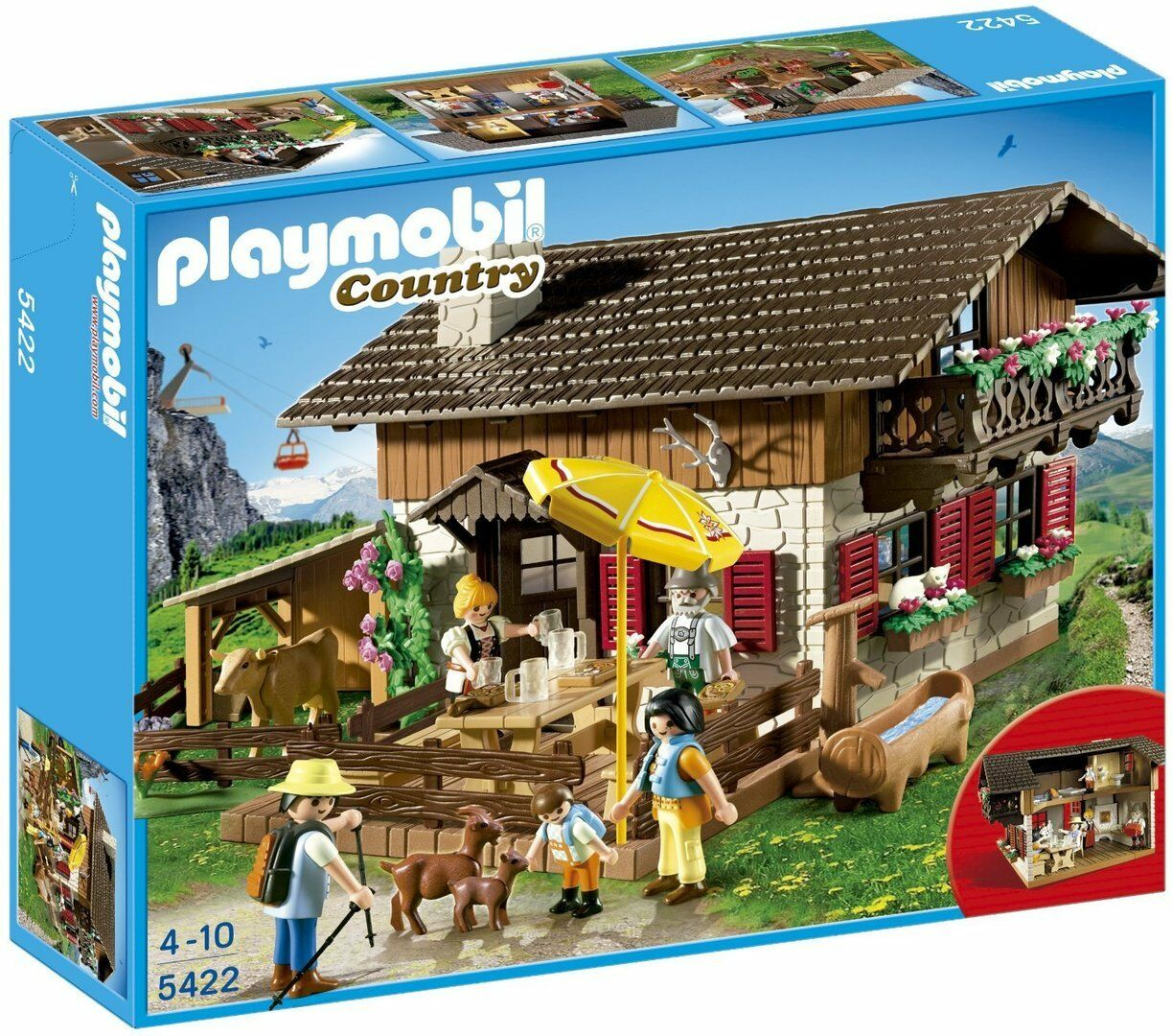 Playmobil 5422 - Casa de los Alpes - Country - NUEVO