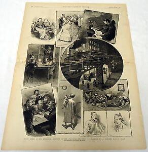 1885-Revista-Grabado-Night-Escenas-en-el-Metropolis-Sketches-de-Vida