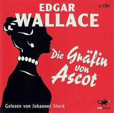 EDGAR WALLACE : DIE GRÄFIN VON ASCOT / 2 CD-SET (HÖRBUCH) - NEU