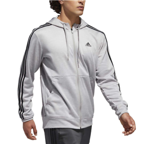 07cb8077e4e1 Adidas Men s Tech Full Zip Fleece Hoodie Performance Hooded Track ...