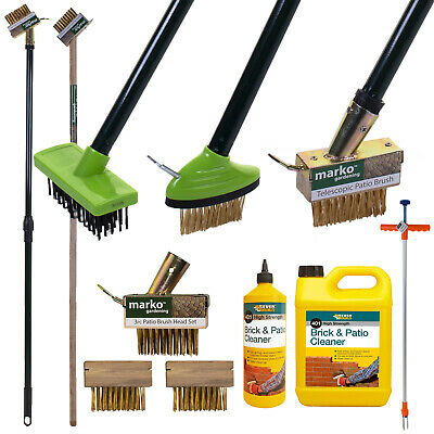 Weed Removal Brush Wire Scraper Tool Removes Weeds BLock Paving Wire Head Only