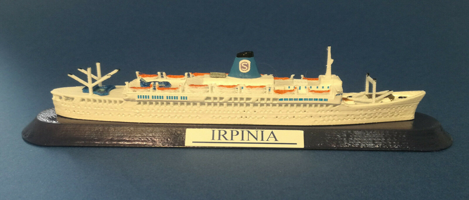 artículos novedosos Nave IRPINIA anni 70 70 70 Ex. Campana SIOSA line  FRATELLI GRIMALDI model ship 1 1250  Venta barata