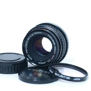 Pentax-M-SMC-50mm-f-2-Asahi-Prime-Lens-Manual-Focus-K-Mount-Very-Clean-Tested