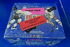 1995-Playoff-One-on-One-Challenge-Hockey-Factory-Sealed-Booster-Box-36-Packs