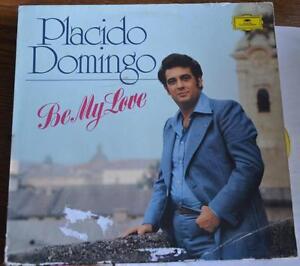 PLACIDO-DOMINGO-Be-My-Love-LP-vinyl-record-OPERA-Deutsche-Grammophon-1976