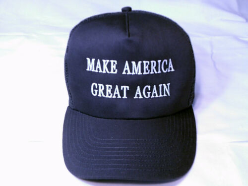 5 COLORS EMBROIDERED,MAKE AMERICA GREAT AGAIN,DONALD TRUMP LOOK TRUCKERS HAT
