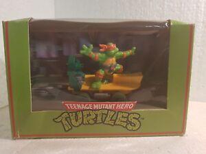 Kinderrennbahnen Qq C 338 Scalextric Uk Schildkröten Skateboard Michaelangelo Turtles Ninja C 338 Excellent In Cushion Effect Spielzeug