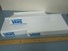 VANS skateboard snowboard BMX surf dealer SLATWALL SHOE SHELVES NEW old stock