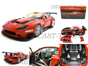 1h18 Kyosho - Ferrari 575 GTC Evolution Rouge #