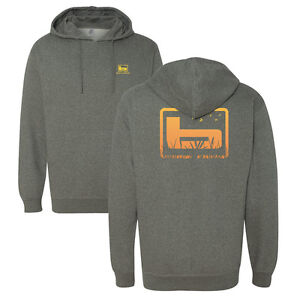 Banded Cattial Hoodie Hooded Sweat Shirt Gunmetal Heather Grey Waterfowl New!