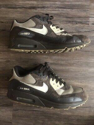 Nike Air Max 90 Shoes Brown Tan Mocha Men SIZE 10 Rare Limited Airmax 325018-202   eBay