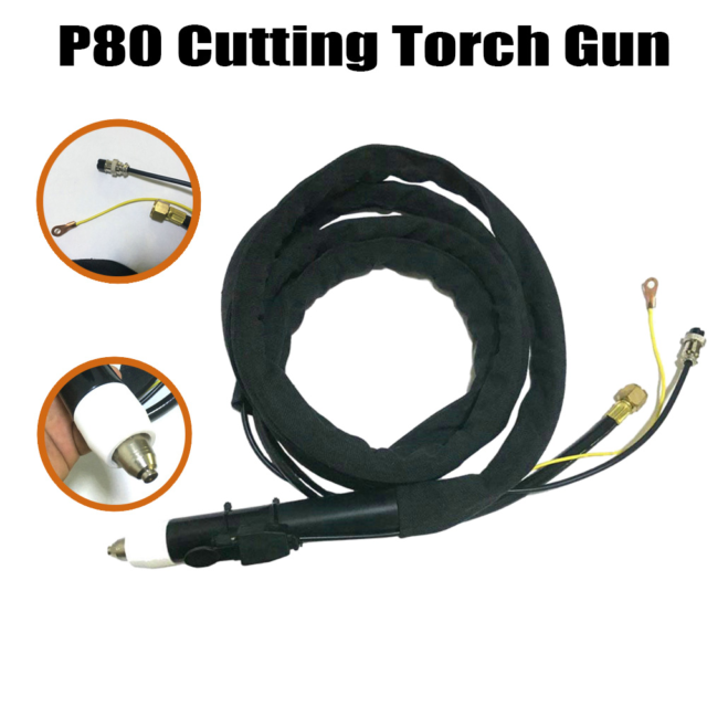 Welding Cutting Torch Metalworking Solders Plasma Straight Body Head Replaces