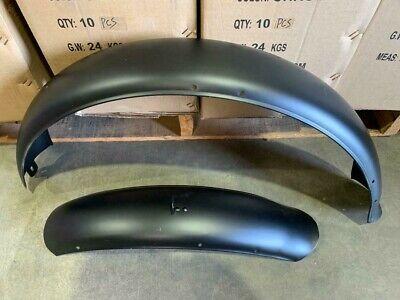 "MBI Fenders for Slugo Seattle Cyclone 26 x 4.0/"" Fat Fenders in Raw"