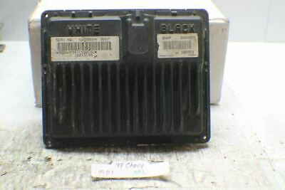 Suburban 1997 PCM ECM ECU Computer Programmed 16229684 Programmed to your VIN #