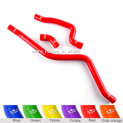 Silicone Radiator Hose For Yamaha Raptor 660 YFM660 2001 2002 2003 04 05 RED