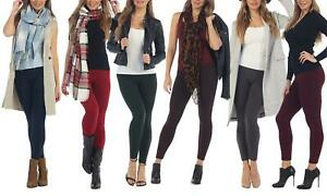NWT-By-Fabric-amp-Fabric-Women-039-s-4-Pack-Premium-Fleece-Leggings-One-Size-2-12