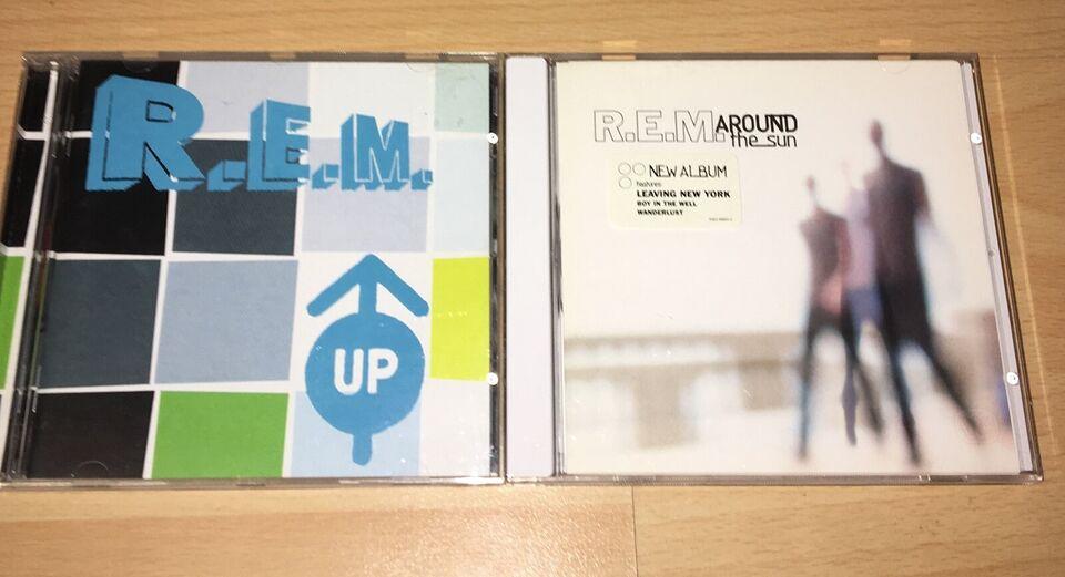 REM: Samlet pakke 6 cd'er som nye, rock