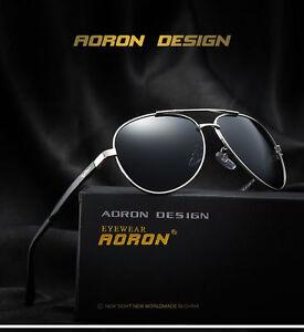 Mens Polarized Photochromic Sunglasses Pilot UV400 Driving Sport Outdoor Eyewear