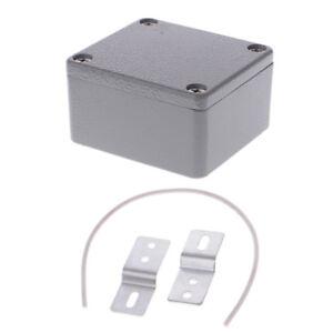 82mm x 58mm x 35mm Dustproof IP65 Plastic Enclosure DIY Junction Box Case Grey