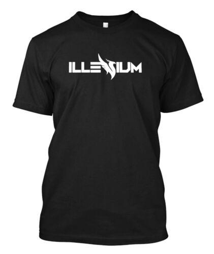 illenium logo new Men/'s Black T-shirt  Tee