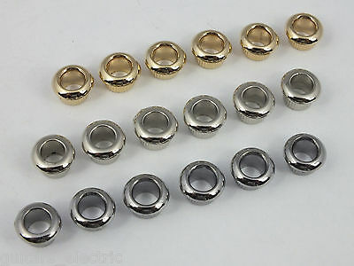6 REDUCER FERRULES BUSHINGS for Vintage Style Machine Heads 8mm to 10mm
