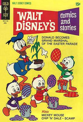 WALT DISNEY/'S COMICS AND STORIES #491 Fine Gold Key Comics 1981