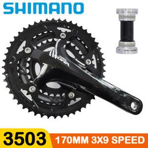 Shimano-Sora-3503-Triple-Crankset-170mm-3x9-Speed-50T-39T-30T-W-BB-Bike-Bicycle