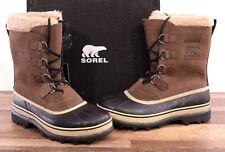 NEW Sorel Men's Winter Caribou Boot 11 MED Brown Waterproof NM1000-238 Boots