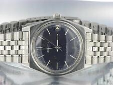 ZENITH MENS AUTOMATIC STAINLESS STEEL VINTAGE WATCH