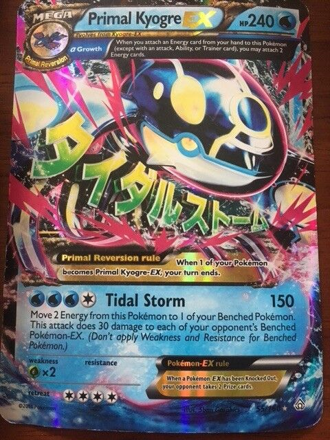 Primal Kyogre EX and Primal Groudon EX