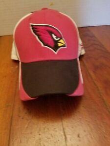 Arizona Cardinals NFL Reebok Ball Cap Hat Large Football Red Bird
