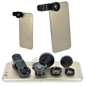 Fish-Eye-Wide-Angle-Macro-Camera-Lens-Accessory-Pack-For-iPhone-4-5-6-7-8-S-Plus