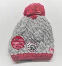 item 4 Women s New Era NFL Pink Breast Cancer Knit Beanie Hat - Tennessee  Titans -Women s New Era NFL Pink Breast Cancer Knit Beanie Hat - Tennessee  Titans a5aab2e0c