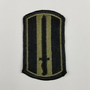 Vintage-U-S-Army-Patch-Sword-Black-and-Green-US-Army-Military-3-034-X-1-3-4-034