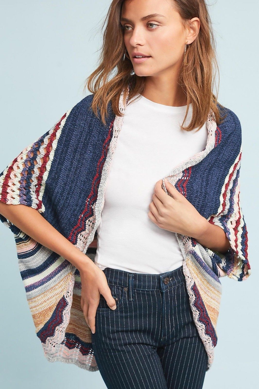 Anthropologie Kearny Crocheted Cardigan by Moth New NWT Various Größes