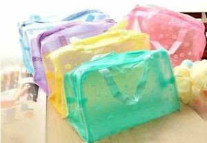 Floral-Transparent-Waterproof-Cosmetic-Wash-Bag-Toiletry-Bathing-Pouch-LD