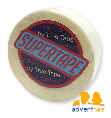 "Supertape Roll 3yds 3//4 /& 1/"" for Lace Wigs /& Toupees"