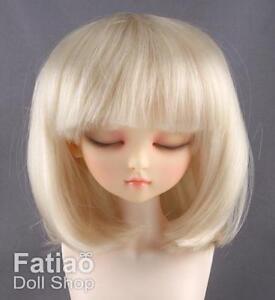 Fatiao-New-Dollfie-MSD-Kaye-Wiggs-1-4-BJD-Size-7-8-034-Blonde-Doll-Wig