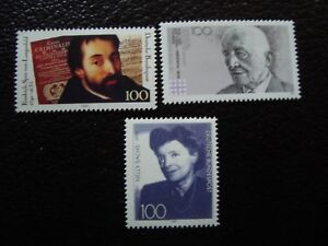 Germany-Rfa-Stamp-Yvert-Tellier-N-1335-1388-1407-N-MNH-COL9