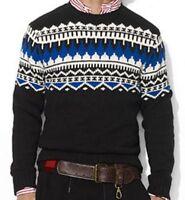 265 Polo Ralph Lauren Fair Isle Indian Striped Cashmere Ski Sweater S M L XL XXL