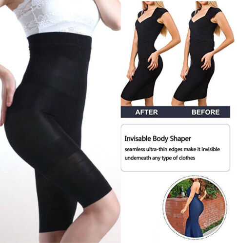 High Waist Tummy Control Shapewear Women Slimming Body Shaper Seamless Panties