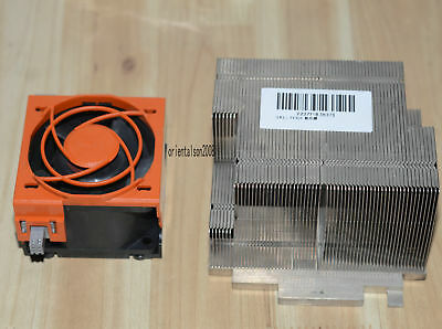 OEM Dell PowerEdge R710 CPU Cooling Kit Fan GY093 90XRN with Heatsink TY129
