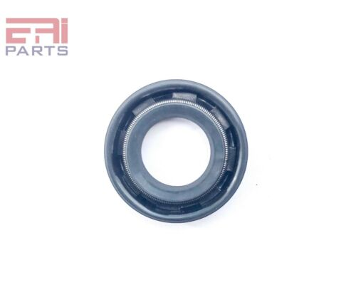 Metal Case w// NBR Coating EAI Double Lip w// Spring Oil Shaft Seal 12X22X5mm TC