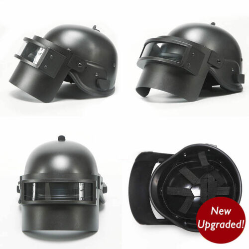 Playerunknown/'s Battlegrounds Game PUBG Level 3 Helmet Prop Cap Black New Ver.